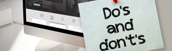 Five Absolute Don'ts of Web Design