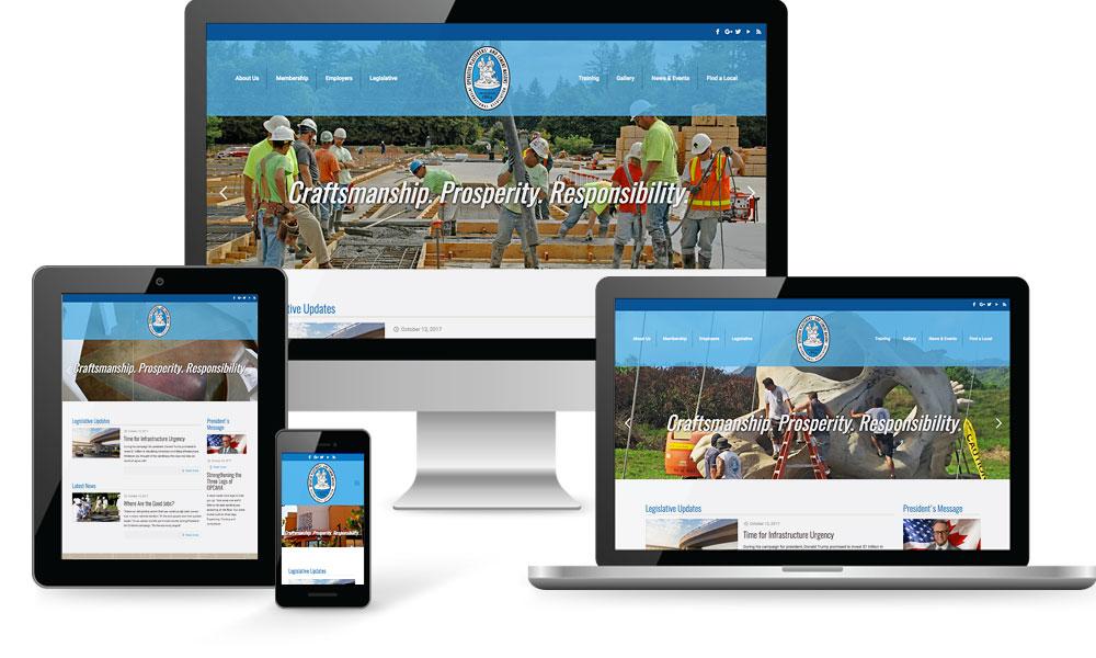 OPCMIA Website Design